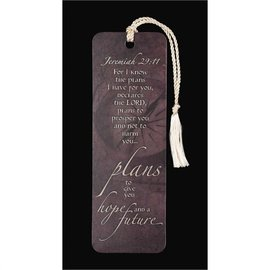 Bookmark - Jeremiah 29:11, Tassel