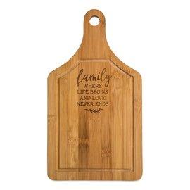 Bamboo Cutting Board - Family
