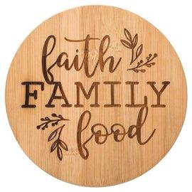 Trivet - Faith, Family, Food