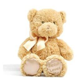 Plush Bear - Jesus Loves Me