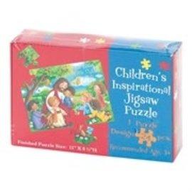 Children's Jigsaw Puzzle - Jesus Loves the Little Children