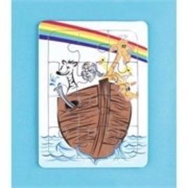 Children's Jigsaw Puzzle - Noah's Ark, 12 pieces