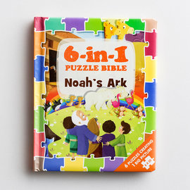 Puzzle - 6 in 1 Book, Noah's Ark
