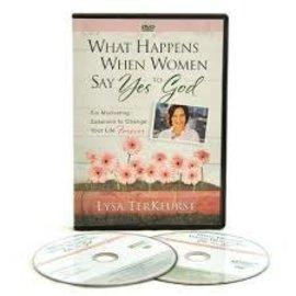DVD - What Happens When Women Say Yes to God (Lysa TerKeurst)
