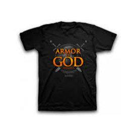 T-shirt - Armor of God, Black