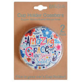 Cup Holder Coaster - Amazing Grace