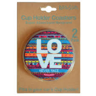 Cup Holder Coaster - Love Never Fails
