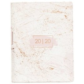 2020 Planner - Grace and Glory, Large Rose Gold LuxLeather w/Zipper