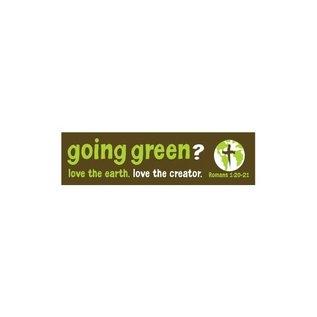 Bumper Sticker - Going Green