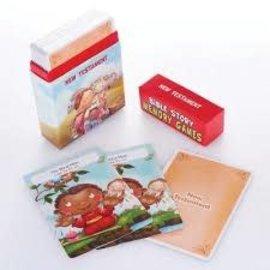 Bible Story Memory Games, New Testament