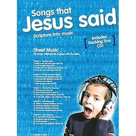 Songs That Jesus Said, Songbook