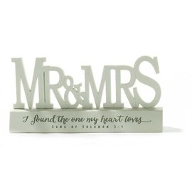Tabletop Word - Mr. & Mrs.