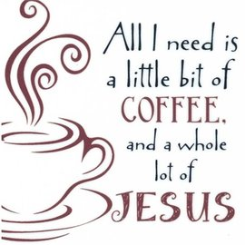 Magnet - Coffee and Jesus 2