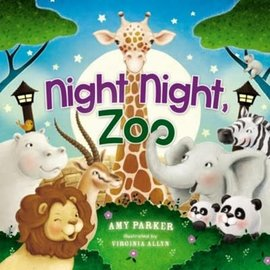 Board Book: Night Night, Zoo (Amy Parker)
