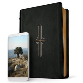 NLT Filament Bible, Black Leatherlike