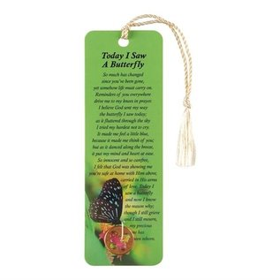 Bookmark - Today I Saw a Butterfly, Coin