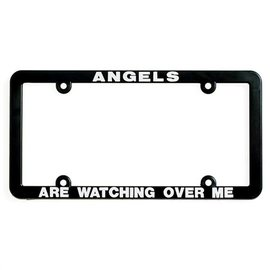 License Plate Frame - Angels