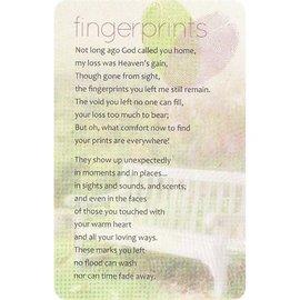 Pocket Card - Fingerprints