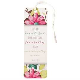 Bookmark - You are Beautiful, Tassel
