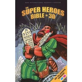 NIrV Super Heroes Bible In 3D, Hardcover