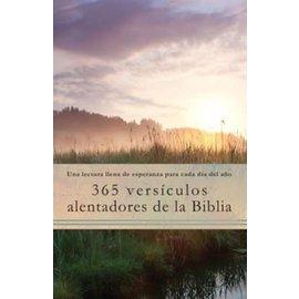 365 Versiculos Alentadores De La Biblia (365 Encouraging Verses Of The Bible, Spanish), Paperback