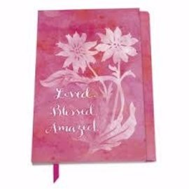 Erasable Pen Journal - Loved Blessed Amazed, Magnetic