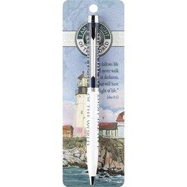 Pen - Chrome Lighthouse