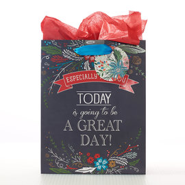 Gift Bag - A Great Day, Medium