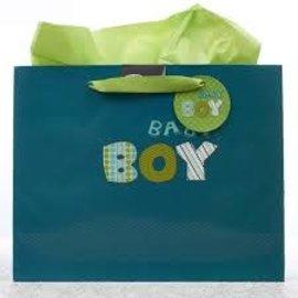Gift Bag - Baby Boy, Large