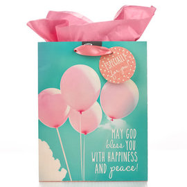 Gift Bag - Balloons, Medium