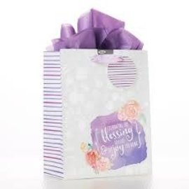 Gift Bag - Celebrating the Blessing You Are, Medium