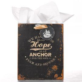 Gift Bag - Hope as an Anchor, Medium