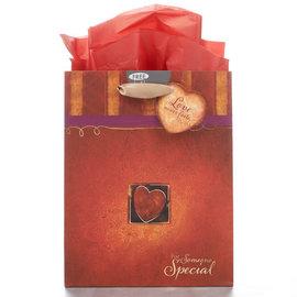 Gift Bag - Love Never Fails, Medium