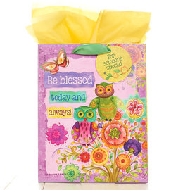 Gift Bag - Owls, Medium