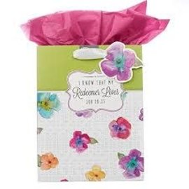 Gift Bag - Redeemer Lives, Medium