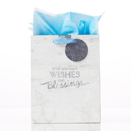 Gift Bag - Wishes and Blessings, Medium