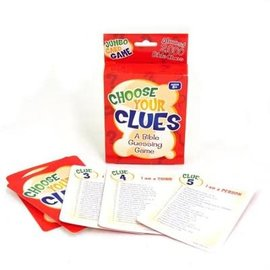 Card Game - Choose Your Clues