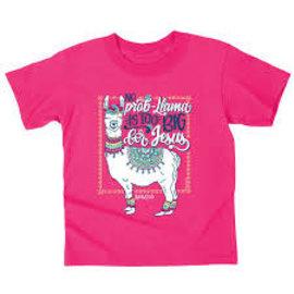 T-shirt - No Prob-Llama is too Big for Jesus