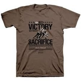 T-shirt - No Victory without Sacrifice