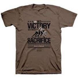T-shirt - No Victory without Sacrifice