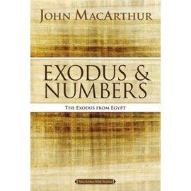 MacArthur Bible Studies: Exodus & Numbers (John MacArthur), Paperback