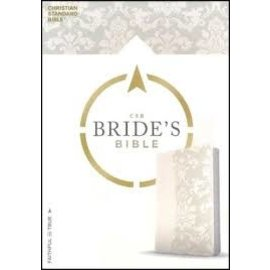 CSB Bride's Bible, White