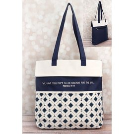 Tote Bag - Hope is an Anchor