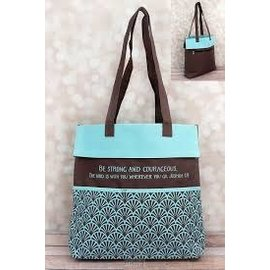 Tote Bag - Strong & Courageous