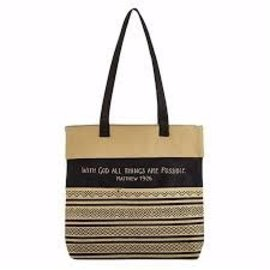 Tote Bag - With God all things are Possible