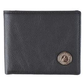 Men's Wallet - Strong & Courageous, Black