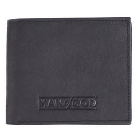 Men's Wallet - Man of God, Black