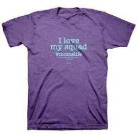T-shirt - I Love My Squad