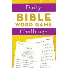 Daily Bible Word Game Challenge