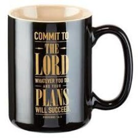 Mug - Commit to the Lord